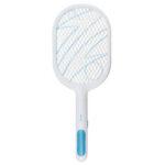 Оригинал              2000 мАч электрический комаров мухобойка аккумуляторная бытовая 3 слой ABS защитная сетка электрическая ошибка молния портативный москитная