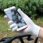 Оригинал              Bakeey На открытом воздухе Нескользящий сенсорный экран Перчатки Летний солнцезащитный крем Full Finger Перчатки