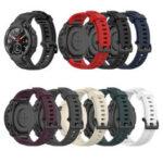 Оригинал              22mm Soft Силиконовый Часы Стандарты Замена ремешка для часов для Amazfit T-Rex / Ares
