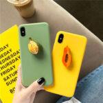 Оригинал              Fashion 3D Candy Color Fruit Шаблон Soft ТПУ Защитный Чехол для iPhone X/XS / XR / XS Макс / 7/8/7 Plus/8 Plus/6 / 6S / 6S Plus/6 Plus