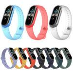 Оригинал              Bakeey Pure Color Прозрачные часы Стандарты Замена ремешка для часов для Xiaomi Miband 5 Mi Band 5