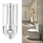 Оригинал              Настенное крепление 350 мл Мыло Дезинфицирующее средство Ванная комната Диспенсер для шампуня для душа