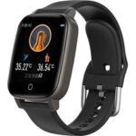 Оригинал              Bakeey T1 1,3-дюймовый Bluetooth 5.0 Браслет для измерения температуры Здоровье Фитнес Tracker IP67 Водонепроницаемы Smart Watch