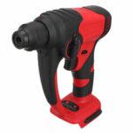 Оригинал              1380 Вт 4 Ямы 2.2J Бесколлекторный Электрический Hammer Дрель Многофункциональный аккумуляторный Удар Дрель Адаптирован к 18 В Makita Батарея