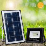 Оригинал              10000LM LED Солнечная Панель Motion Датчик Прожектор Лампа На открытом воздухе Сад Прожектор