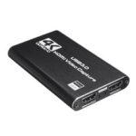 Оригинал              4K 1080P HD USB 3.0 – HDMI Устройство записи видео с видеозахвата Прямая трансляция игры для Xbox для Nintendo Switch PS4 камера Портативный компьютер ПК Youtube Tikto