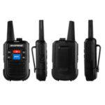Оригинал              Baofeng C50 2PCS Walkie Talkie Диапазон частот 400–480 МГц 99-канальный USB перезаряжаемые двусторонние радиостанции 1500 мАч Li-ion Батарея