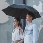 Оригинал              90Fun 8K автоматический обратный складной зонт из светодиодов световой ветрозащитный ветрозащитный зонт UPF50 + Анти UV от Xiaomi Youpin