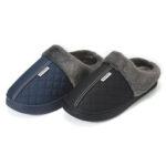 Оригинал              Men Home Тапки Зимняя теплая обувь для пола / пола Ванная комната Plush House Тапки Меховая обувь для мужчин