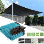 Оригинал              95% UV Солнцезащитный козырек Парусная сетка На открытом воздухе Сад Навес для теплицы с навесом