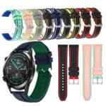 Оригинал              Bakeey 22mm Силиконовый Smart Watch Стандарты Запасной ремень для часов Samsung Gear S3/Huawei GT 2 46MM / Amazfit Stratos 2/2S