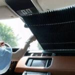 Оригинал              BOUNDS Выдвижной Авто Занавес Окна Зонт UV Защитный Козырек Складной Авто Крышка