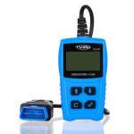 Оригинал              TVIRD Авто OBD2 Сканер OBD Диагностика Инструмент Двигатель Считыватель кодов неисправностей Батарея Тестер с экраном LCD Дисплей