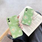 Оригинал              Мода Ins Flower Шаблон с Объектив Защитить Силиконовый Защитная Чехол Задняя крышка для iPhone 11/11 Pro / 11 Pro Max / X / XS / XR / XS Max / 7/8/7 Plus/8 Plus