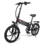 Оригинал              SAMEBIKE 20LVXD30 10.4Ah 48V 350W 20 в складном электрическом велосипеде 35 км / ч Максимальная скорость 80 км Пробег максимальная нагрузка 120 кг E-bike City Bike