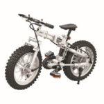 Оригинал              242 Шт. 1: 6 7072 3D Складной Велосипед Модель DIY Ручная сборка Механический Технологические Блоки Развивающие Игрушки для Детей