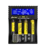 Оригинал              HTRC CH4 Батарея Зарядное устройство Li-ion Li-fe Ni-MH Ni-CD Smart Быстрое зарядное устройство для 18650 26650 6F22 9В AA AAA 16340 14500 Батарея Зарядное устройство