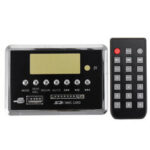 Оригинал              3.7-5V с записью Bluetooth 5.0 MP3 WMA WAV FLAC APE Аудио декодер Совет Синий экран