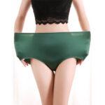 Оригинал              Женские с высокой талией бесшовные простые бедра Soft Comfy Panty