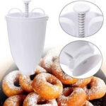 Оригинал              Donut Maker Диспенсер для теста из пластика Donut Cake DIY Выпечка Набор Maker Cook