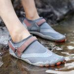 Оригинал              Мужчины На открытом воздухе Ткань Mesh Non Slip Быстрая сушка Пляжный Водолазная обувь