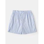 Оригинал              Мужские легкие повседневные шорты в полоску Плавки Летние дышащие шорты