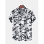 Оригинал              Мужские повседневные рубашки с несколькими рукавами и воротником с лацканами с короткими рукавами