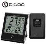 Оригинал              Digoo DG-TH1180 домашний термометр гигрометр датчик влажности внутреннего и наружного стеклянная панель термометр
