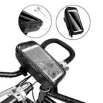 Оригинал              AFISHTOUR Передняя часть велосипеда GPS Телефон Сумки Чехол с Наушник / отверстиями для зарядки Водонепроницаемы MTB Bike Head Трубка Держатель для ру