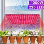Оригинал              4000W 225 LED Grow Light Растение Гидропонный Полный Спектр Комнатный Растение Цветок