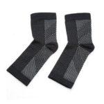 Оригинал              1Pairs Носки Magnetische Voetbrace Носки рукавов Медь Проникнутая магнитная опора для ног Компрессионная лодыжка Brace Носки