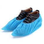 Оригинал              SGODDE 100 Шт. / Лот Одноразовые Бахилы Наборы по уходу за обувью Пластиковый дождь Водонепроницаемы Бахилы Бахилы для 34-46 ярдов
