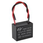 Оригинал              CBB61 4UF Пусковая емкость 450V AC Конденсатор вентилятора CBB Мотор Рабочий конденсатор
