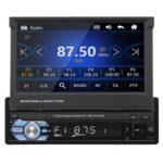 Оригинал              9602G 7 дюймов Одиночный 1DIN Авто MP5-плеер Bluetooth стерео Радио USB AUX FM RDS с резервной копией камера