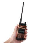 Оригинал              Baofeng X3 Plus 10 Вт Walkie Talkie Портативный трехдиапазонный Радио UHF / VHF 6600 мАч