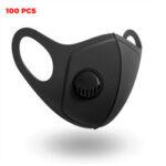 Оригинал              100 Шт. PM2.5 Маски Для Лица Кемпинг Дорожный Велоспорт 3-слойный Фильтр Дышащий Противопыльный Маска для Рта
