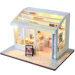 Оригинал              TIANYU DIY Кукла House TD36 Магазин маникюра Creative Modern Shop Ручная работа Кукла Дом с мебелью