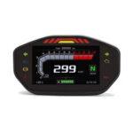 Оригинал              14000 об / мин мотоцикл TFT LCD Дисплей Цифровой спидометр одометр 6 Счетчик с подсветкой передач для 1 2 4 цилиндра Универсальный