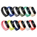 Оригинал              Bakeey Colorful Pure Color Силиконовый Часы Стандарты Запасной ремешок для часов для Xiaomi mi Стандарты 5
