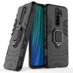Оригинал              Bakeey Armor Ударопрочный Магнитный с 360 Вращением Палец Кольцо Держатель Стенд ПК Защитный Чехол для Xiaomi Redmi 9