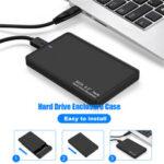 Оригинал              Внешний портативный 2 ТБ USB 3.0 жесткий диск Ultra Тонкий SATA Устройства хранения Чехол