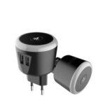 Оригинал              Bakeey 5V / 2.4A Smart Travel Charger с LED ночником Dual USB Быстрая зарядка для iPhone XS 11Pro Oneplus 8Pro Xiaomi Mi10 Redmi Примечание 9S