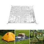 Оригинал              Naturehike 125/160 / 180×200см Многофункциональный коврик для пикника 3 слоя Водонепроницаемы Коврик из алюминиевой фольги Sunshading Canopy