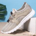 Оригинал              Мужская спортивная сетка дышащая легкая повседневная обувь для ходьбы