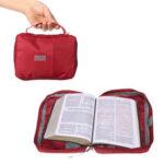 Оригинал              Большая книга для изучения Библии Holy Cover Чехол Carry Сумка Книга для изучения Защитная сумка из холста