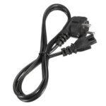 Оригинал              ЕС 3-контактный шнур питания переменного тока 2-контактный кабель-адаптер 250 В 10A Интерфейс ноутбука Адаптер переменного тока Сетевое заряд