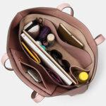Оригинал              Женская многофункциональная сумка-тоут с несколькими карманами большой емкости со съемным ключом из 2 предметов