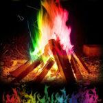 Оригинал              30 г Мистический Огонь Цветной Волшебный Пламя для Костра Костер Вечеринка Камин Пламя Порошок Волшебный Трюк Пиротехника Игрушка