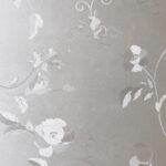 Оригинал              Оконная Пленка Стикер Без Клея Статическое Льняное Стекло DIY Домашнего Декора Пион Цветок