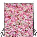 Оригинал              1×1.5m 1.5×2.1m 1.8×2.7m Rose Цветочные Виниловые Фотографии Фон Свадебное День Рождения Декор Фото Фон